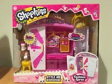 Shopkins Style Me Wardrobe New release 2 Exclusive Shopkins