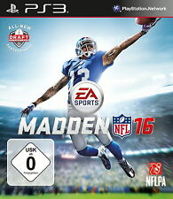 Madden NFL 16 para ps3 * top * (con embalaje original)