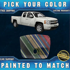 Painted To Match - Passengers Front Bumper End 2007-2013 Chevy Silverado W/ Fog