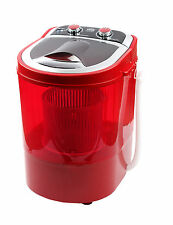 DMR 30-1208 Single Tub Portable Mini Washing Machine with dryer basket --Red