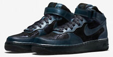 NIKE AIR FORCE 1 '07 MID PRM ARMORY NAVY WOMEN SNEAKER 805292-900 Size 9.5 NEW