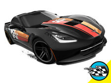 Hot Wheels Cars - '14 Corvette Stingray (Hard-Top) Black