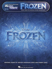 Frozen E-Z Play Today Very Easy Keyboard Sheet Music Book EZ