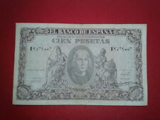 SPAIN P-118a BILLETE 100 PESETAS 1940 CRISTOBAL COLON MBC SERIE F 3973447