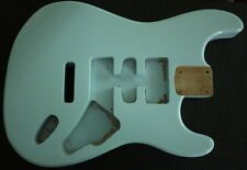 Alder Body for Strat Guitar Sonic Blue Finish HSH