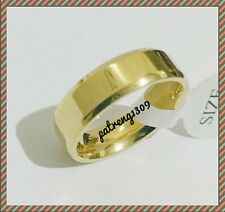 PT1309:  STAINLESS STEEL  BAND GOLD BAND  RING