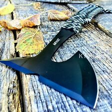 "9"" SURVIVAL TOMAHAWK TACTICAL THROWING AXE HUNTING HATCHET CHOPPER BOWIE TOOL"