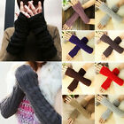 Fashion Women Men's Winter Gloves Arm Warmer Long Fingerless knit Mitten Unisex