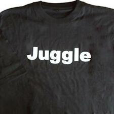 Zeekio 100% Cotton Juggle Quality Tee Shirt - Black- Small
