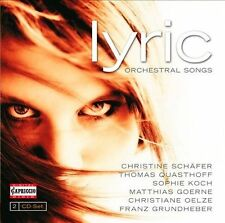 Lyric: Orchestral Songs, New Music