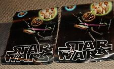 """(2) 1977 Star Wars Water Damaged 20""""x 28"""" Factors Inc Movie Posters"""