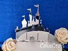 Acrilico Disney Princess castello di compleanno, wedding Cake Topper Decorazioni