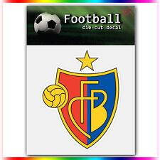 """FC Basel 1893 UEFA Die Cut Vinyl Sticker Car Bumper Window 4""""x3.2"""""""