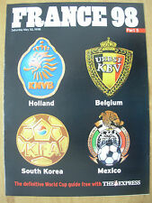 FOOTBALL WORLD CUP 1998 FRANCE 98 EXPRESS 5 - HOLLAND BELGIUM MEXICO S.KOREA