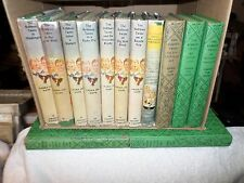 1950-62 13 Volumes The Bobbsey Twins 8 w/ Dustjackets Very Good to Near Fine