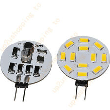 1pc G4 Reading Light 490Lumen 12 SMD 5630 LED Warm White Bulb Lamp 12V 24V AC