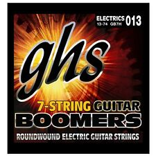 GHS GB7H Boomers 7-String Heavy Roundwound Electric Guitar Strings 13-74