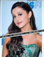 """ARIANA GRANDE SEXY!! COLOR CANDID 8x10 PHOTO """"VICTORIOUS"""" """"SAM & CAT"""" #001"""
