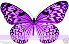 24 x Gorgeous PURPLE Speckled Butterflies Edible Decorations Cup Cake Toppers