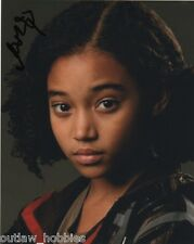 Amandla Stenberg Autographed Signed 8x10 Photo COA #1