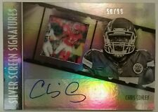 CHRIS CONLEY 2016 Panini GALA Silver Screen Signatures AUTOGRAPHED /99