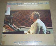 The Legendary Lazar Berman plays LISZT - Columbia M 33927 SEALED