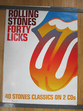 ROLLING STONES Forty licks Promo  poster Classics on 2 cds 18x24