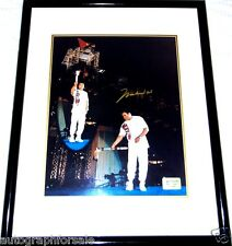 Muhammad Ali signed auto 1996 Olympic Torch 16x20 photo matted framed #/1996 COA