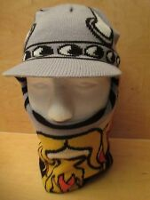 RARE TOBY VIKING PRINT BEANIE HAT SIZE 8-20 VERY FREAKING WARM! FREE SHIPPING!