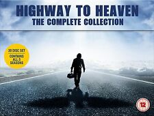 HIGHWAY TO HEAVEN COMPLETE DVD BOX SET SEASONS 1-5 SERIES NEW AND SEALED