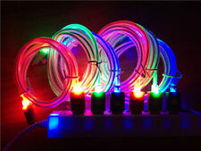 LED Glowing Lightning USB Charger Data Sync Cable Cord for iphone 5,5S,5, 6plus