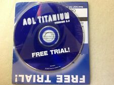 Collector's CD AOL America Online Titanium Ver.5.0 500 Hours Free Sealed CD024