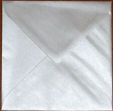 Top Quality 114mm x 162mm (C6) 95GSM Pearlescent Envelopes-Choice of Colour& Qty