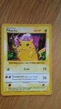 Red cheek rare Pikachu  pokemon cards ultra rare find!