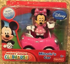 Disney Minnie Mouse Car and Figure Pack Free Shipping New Fisher Price