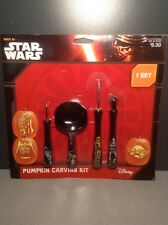 New Disney Star Wars Pumpkin Carving Kit 1 set Pumpkin Decorating  Halloween