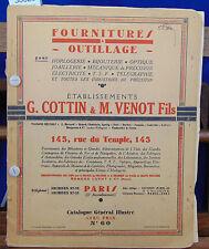 Cottin Fournitures et outillages pour horlogerie, bijouterie, optique, j...