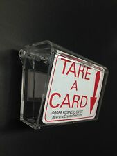 Outdoor Business Card Holder, Clear- Water Resistant