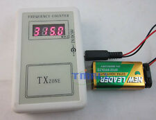 RF Frequency Detector Cymometer Meter Scanner Counter 250-450MHZ remote control