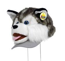 Tier Mütze Plüsch Kappe  Hund Husky