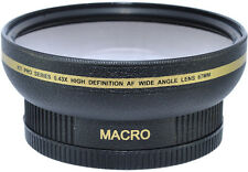 72MM  Wide Angle Fisheye MACRO Lens for Canon / Nikon 18-200mm 28-135mm Lenses