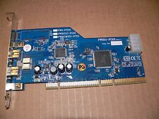 FWB1G-PCI01 Rev1.1 2-Port OHCI IEEE 1394b FireWire 800 to PCI-X Host Bus Card