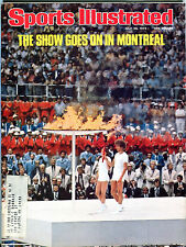 Sports Illustrated Magazine July 26 1976 Montreal Olympics EX 060216jhe