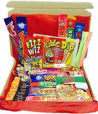 British Retro Sweets Gift Box - English - Hamper -Double Dip -Refresher -Candy M
