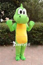 2015 New Yoshi Dinosaur Cartoon Mascot Costume Adult SZ Fancy Dress For Kids