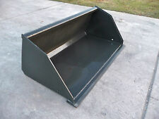 "Toro Dingo Mini Skid Steer Attachment 48"" Smooth Mulch Bucket - New - Ship $149"