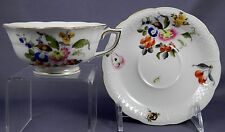 HEREND FRUITS & FLOWERS Cup & Saucer Set 734-BFR Motif #7