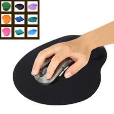 Economic Thin Wrist Support Cloth and EVA Mouse Pad Mice Mat for Computer Black