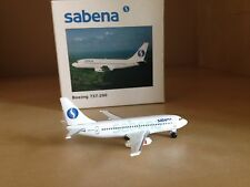SABENA BOEING 737-200 1/500 SCALE MODEL BY HERPA WINGS