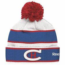 MONTREAL CANADIENS 2016 NHL WINTER CLASSIC REEBOK CUFFED POM KNIT HAT TOQUE